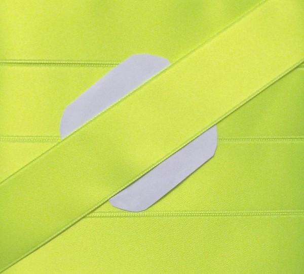 Satinband Double Face 25 mm (neon gelb)