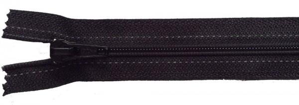 RV schwarz, 037 cm Kunststoff nicht teilbar Spirale