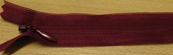 RV rot bordeaux, 025 cm Kunststoff nahtverdeckt