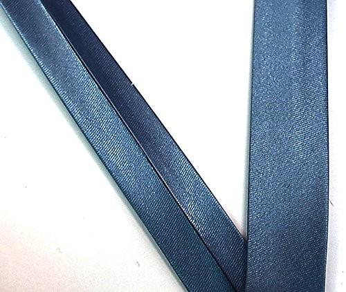 Satinschrägband tauben blau 20 mm