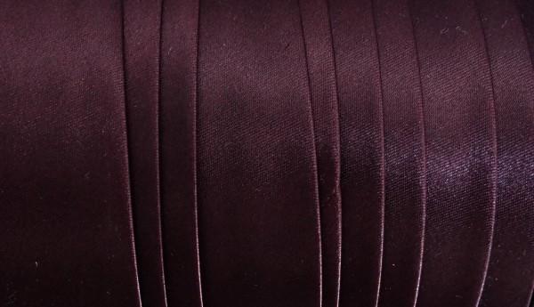 Satinschrägband bordeaux 30 mm