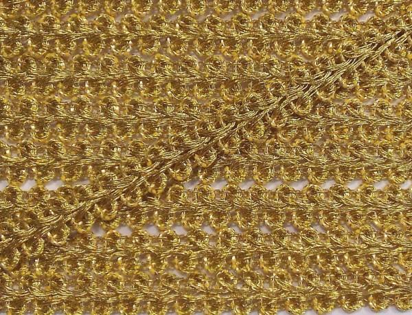 Posamentenborte Lurex Gold 8 mm