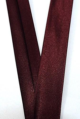 Satinschrägband bordeaux 18 mm