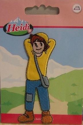 "Applikation ""Heidis Peter"" 35mm x 85 mm"