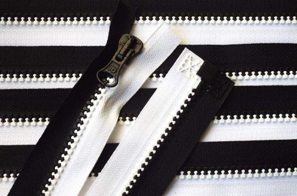 RV schwarz, 070 cm Kunststoff teilbar Krampe