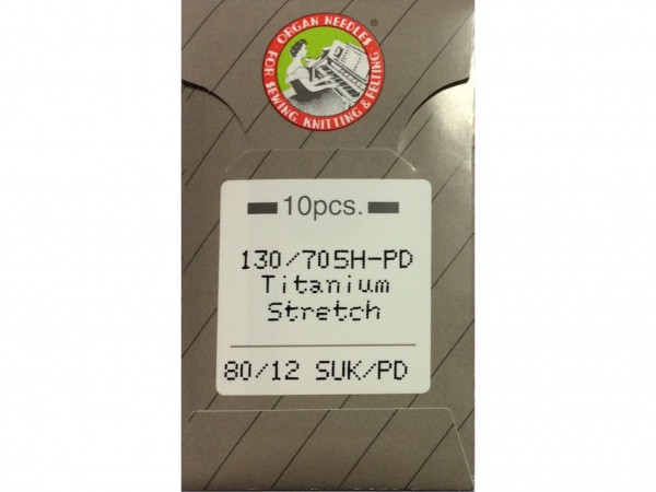 Nähmaschinennadeln 80 System 130/705 H-PD SUK Titan