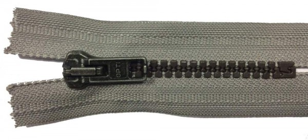 RV grau, 009 cm Kunststoff nicht teilbar Krampe
