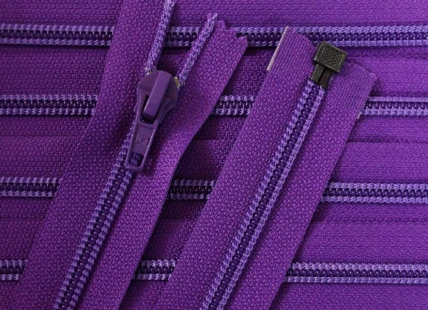 RV violett, 035 cm Kunststoff teilbar Spirale