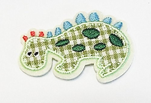 Applikation Dinosaurier 4,5 cm x 4 cm zum aufbügeln