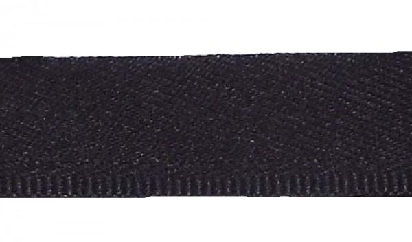 25 m Hosenschonerband/Stoßborte 15 mm schwarz col. 509