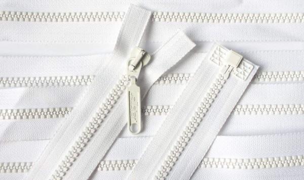 RV weiß, 054 cm Kunststoff teilbar Krampe