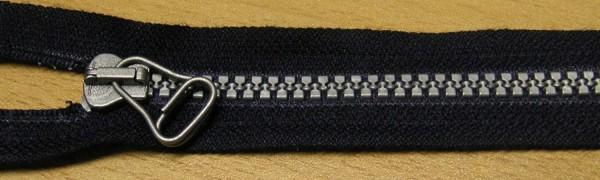 RV blau, 049 cm Kunststoff teilbar Krampe