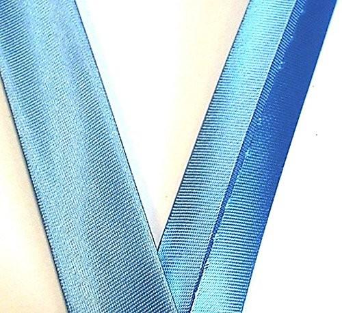 Satinschrägband himmel blau 20 mm