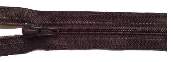 RV braun dunkel, 038 cm Kunststoff nicht teilbar Spirale