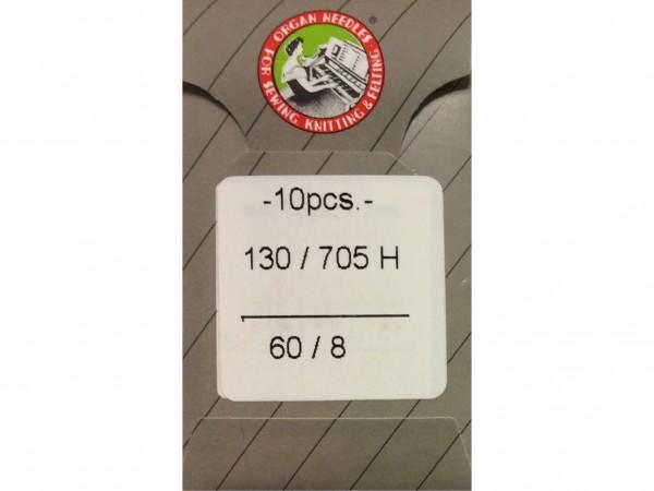 Nähmaschinennadeln Stärke 60 130/705 H