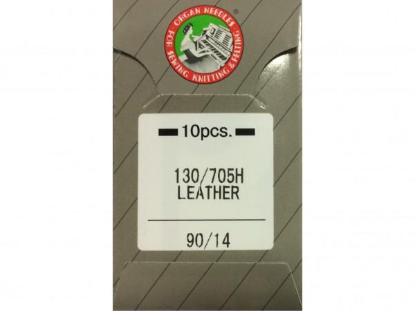 Nähmaschinennadeln Leder Stärke 90 130/705 H