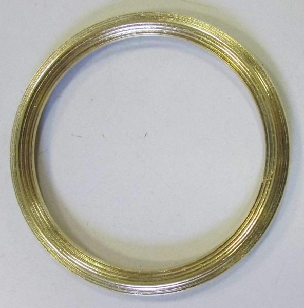 Bekleidungsaccessoires goldfarben 34 mm