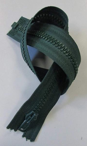 RV grün, 038 cm Kunststoff teilbar Krampe
