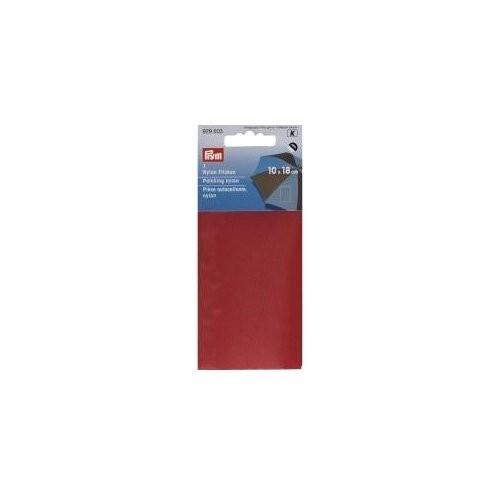 Klebeflicken Nylon 10 x 18 cm rot