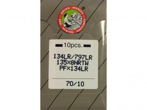 Nähmaschinennadeln System 134 LR Leder 70