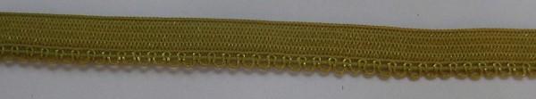 Wäschespitze elastisch 8 mm senf