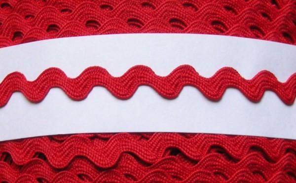 Zackenlitze 9 mm rot