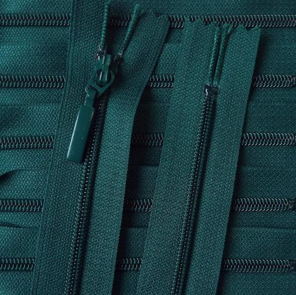 RV grün dunkel, 012 cm Kunststoff nicht teilbar