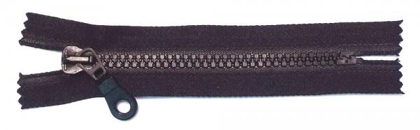 RV schwarz, 012 cm Kunststoff nicht teilbar Krampe