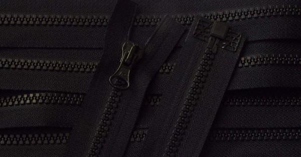 RV schwarz, 063 cm Kunststoff teilbar Krampe