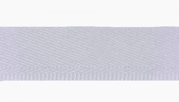 25 m Hosenschonerband/Stoßborte 15 mm weiß