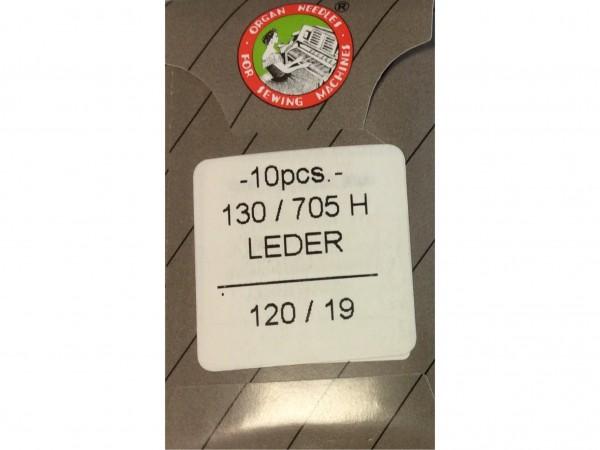 Nähmaschinennadeln Leder Stärke 120 130/705 H