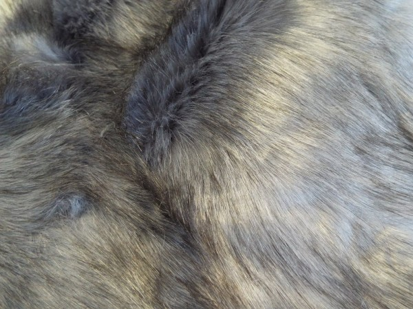 Fellstreifen 40 x 200 cm violett