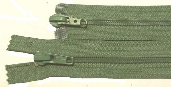 RV grün, 058 cm Kunststoff teilbar 2-Wege Spirale