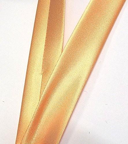 Satinschrägband apricot 20 mm