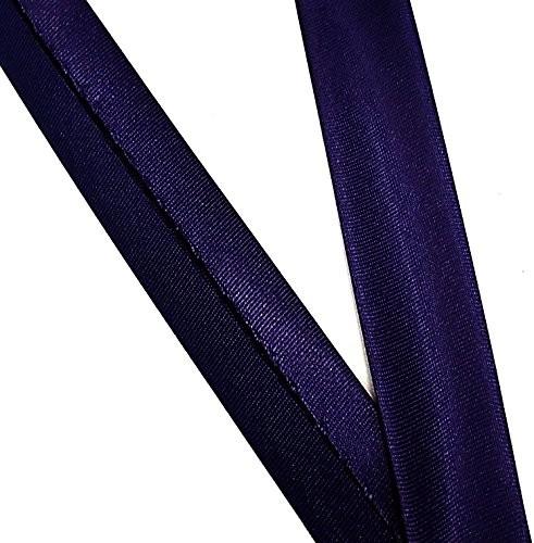 Satinschrägband nacht blau 18 mm