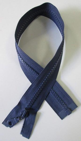 RV blau, 040 cm Kunststoff teilbar Krampe