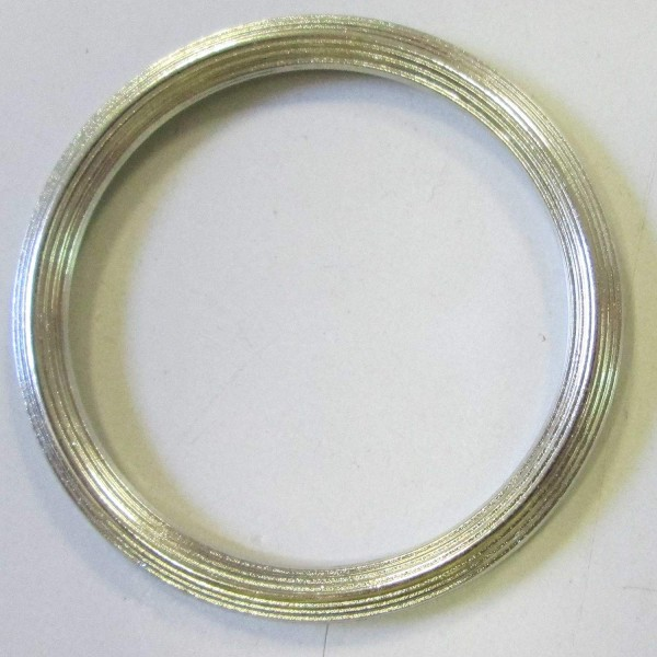 Bekleidungsaccessoires silberfarben 30 mm
