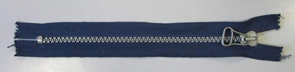 RV blau dunkel, 018 cm Kunststoff nicht teilbar silberne Krampe