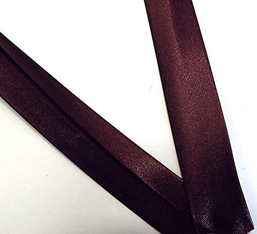 Satinschrägband dunkles bordeaux 18 mm