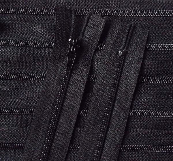 RV schwarz, 155 cm Kunststoff für Bettwäsche