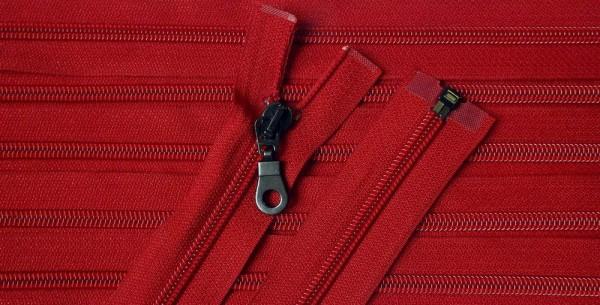 RV rot, 070 cm Kunststoff teilbar Spirale