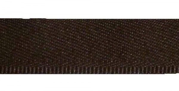 Hosenschonerband/Stoßborte 15 mm dunkel braun col. 648