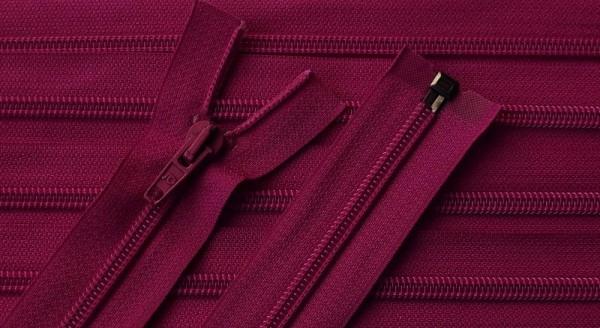 RV pink dunkel, 079 cm Kunststoff teilbar Spirale