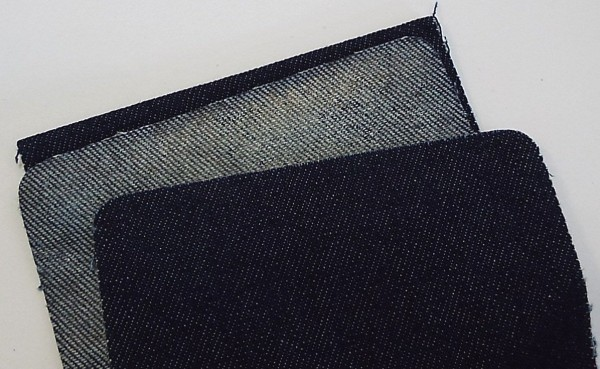 Patches Jeans, dunkel jeans 10 x 40 cm
