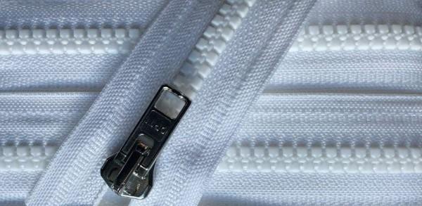 RV weiß, 064 cm Kunststoff nicht teilbar Krampe