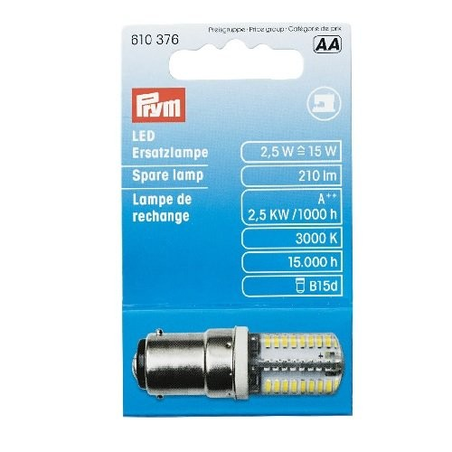 LED Ersatzlampe für Nähmaschine Bajonett