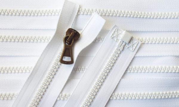 RV weiß, 056 cm Kunststoff teilbar Krampe