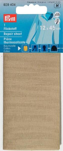 Flickstoff CO (bügeln) 12 x 45 cm beige