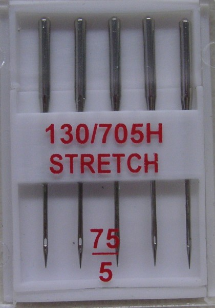 Nähmaschinennadeln 130/705 Stretch 75