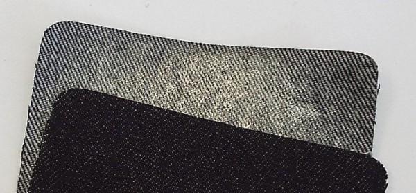 Patches Jeans, schwarz 10 x 40 cm